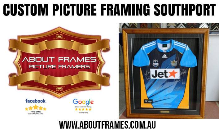 memorabilia framing gold coast